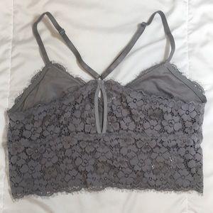 8f12db9eb5 aerie Intimates   Sleepwear - Aerie Romantic Lace Longline Bralette